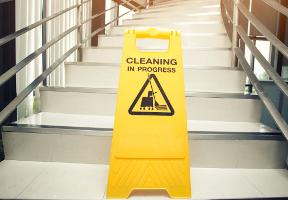 Suca Multi Diensten - Adhoc schoonmaak - Trappenhuis